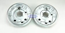 "LH & RH TDE Trailer Hydraulic Drum Brake Cluster Backing Plate 12"" x 2"" Shoe"