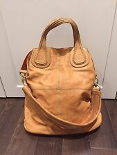 Givenchy Butterscotch Leather 'Nightingale' Large Tote Bag 100% authentic