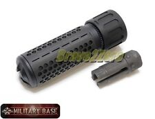 Airsoft QDC CQB Style Barrel Extension w/ Quick Detach Flash Hider 14mm CCW