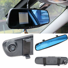 "Car DVR Video Rearview Mirror Traffic Recorder 2.8"" HD Vision Camera Tachograph"