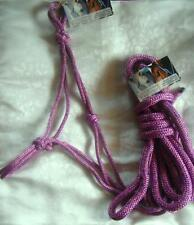 Standard Rope Halter and 12ft Lead Rope with Loop. Natural Horsemanship