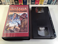 Rider Of The Plains Rare Western VHS 1931 OOP HTF Sinister Cinema Tom Tyler