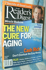 READER'S DIGEST 2002 OCT PETER JENNINGS;MEDICINE;AGING;CASH;SPACE ROCKS;HERODOG