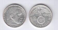 Germania 2 Marchi 1939 Zecca A Argento Silver diametro mm. 25 Germany OTTIMA