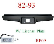 RP09 82 93 Chevy S10 Roll Pan Rear, With License Plate Light