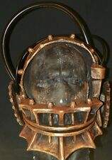 Mask Saw Reverse Bear Trap Full Head and Neck Latex Harness Adult Halloween