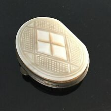 PORTE MONNAIE XIXè NACRE Sculptée Victorian Coin PURSE MOTHER OF PEARL 19thC