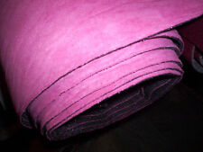 """SUEDE Auto Headliner Upholstery Material with a FOAM Backing HOT PINK 61"""" Crafts"""