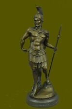 Signe Ellis Roman Legion Soldier Warrior Bronze Marble Sculpture Statue GiftDB