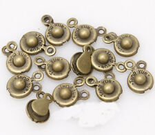 2016 30Sets Snap Fastener Clasp Hooks Connectors For DIY Jewelry Making 15x8mm