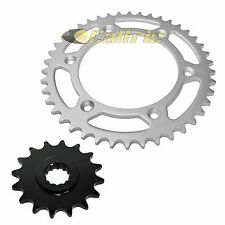 Front & Rear Sprockets Kit Fits KTM 640 LC4 1999-2007