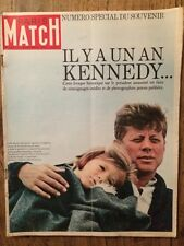 Paris Match 21/11/1964 - Numero Collector Il y a un an Kennedy - Photos Jackie