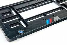 BMW M LOGO Auto FRAME USA for LICENSE PLATE PLATES M3 M5 E46 E39 E90 X5M M6 F10