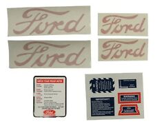 8N5052DP New Ford 8N Tractor 1950 -1952 Decal Set w/ Proof Meter & Instructions