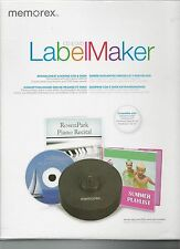 Memorex CD DVD Labelmaker Kit Disk Label Office Supplie Industrial Repair Clean