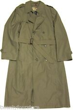 Mens Vintage Christian Dior Monsieur Trench Coat w/ Wool Liner Dark Khaki 40 L