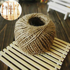 50M Natural Brown Jute Hemp Rope Twine String Cord Shank Craft String DIY Making