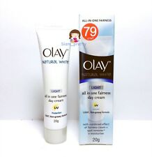 20G OLAY NATURAL WHITE RICH LIGHT ALL IN ONE FAIRNESS UV PROTECTION DAY CREAM