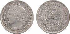 IIe République, 20 centimes Cérès, 1850 Paris, levrette oreille haute - 28