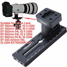 Tripod Mount Ring Foot + Quick Release Plate for Canon EF 400mm f/2.8L IS II USM