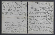 Queen Alexandra Receives a Chain Mail & Sends it on 1907 Signed Autograph Letter