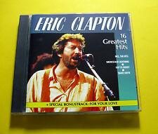 "CD ""Eric Clapton - 16 GREATEST HITS"" Best of/16 canzoni (Snake Drive)"