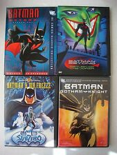 Batman Beyond/Batman & Mr Freeze/Batman: Gotham Knight 4 DVD Box Lot