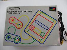 Console with box Super Famicom SFC SNES Japan Ver
