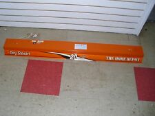 NASCAR TONY STEWART #20 HOME DEPOT 4FT FLUORSCENT SHOP LIGHTS, 1 WKG, 1 NOT.#