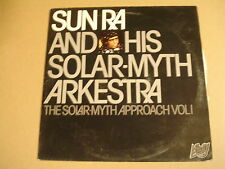 LP / SUN RA & HIS SOLAR-MYTH ARKESTRA - THE SOLAR-MYTH APPROACH VOL I