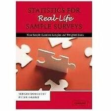 Statistics for Real-Life Sample Surveys : Non-Simple-Random Samples and...