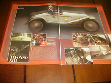 1912 HISPANO SUIZA ALFONSO XIII   ***ORIGINAL 1978 ARTICLE***