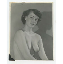 VINTAGE PIN UP PHOTO BUSTY NUDE WOMAN CLOSE UP ADULT ONLY ITEM