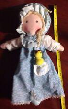 Holly Hobbie Knickerbocker Doll With Pet 14 Inch