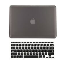 "2in1 GREY Rubberized Case for Macbook Pro 15"" A1398 / Retina display + Key Cover"