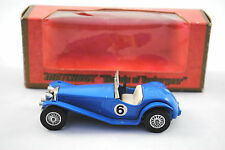 Matchbox of Yesteryear No:Y-3 1934 RILEY MPH Blue Sports Car Code 10 MIB