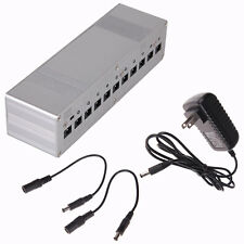 NEW-TYPE Durable 10 Isolated Output 9V 12V 18V Guitar Effect Pedal Power Supply