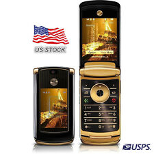 2GB ORIGINAL Motorola RAZR2 V8 Luxury Edition GOLD 100% UNLOCKED Cellular   USA