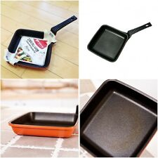 "Kitchen Art Eco Non stick Safe Coated Square Shape Fry Pan 6.3"" 16cm Korean"