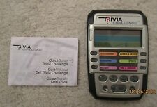 """ONE WORLD. """"TRIVIA CHALLENGE"""" GAME. W/USER'S GUIDE. USED. IN WORKING ORDER."""