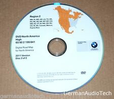 BMW NAVIGATION SYSTEM MAP DVD CD NORTH AMERICA CANADA MEXICO 2011 65902199841