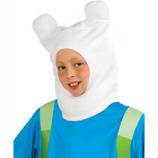 Adventure Time Finn Plush Costume Headpiece Hat Beanie Accessory Rubies 35110