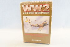 """WW2 Air Force Commander Impressions-Computer PC Game-Sealed New 1993: 3.5"""" Disks"""