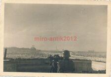 7 x Foto, Flak, Einsatz Westfront bis Italien, Flakstellung in Caen 1940 (N)1166