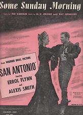 """Alcuni la domenica mattina, dal quadro """"SAN ANTONIO"""" - 1945 SPARTITI MUSICALI"""