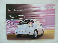 Toyota iQ - 3flex Finanzierung - Prospekt Brochure 01.2009