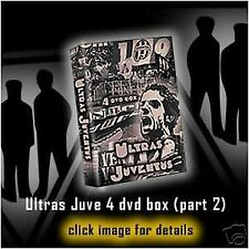 COFANETTO 4 DVD ULTRAS JUVENTUS volume 2 (TRADIZIONE,FIGHTERS,DRUGHI,JUVE,VIKING