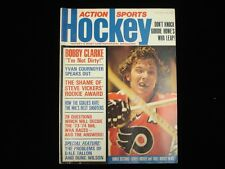 November 1973 Action Sports Hockey Magazine - Bobby Clarke Cover