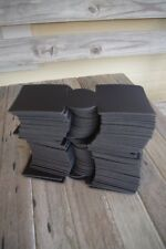 Lot of 50 Unsewn BLACK Blank Koozies Great Wholesale Resale Embroidery PRINTING