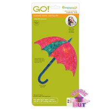 55178- Accuquilt GO! Baby Cutter Dancing Umbrella by Edyta Sitar Applique Die